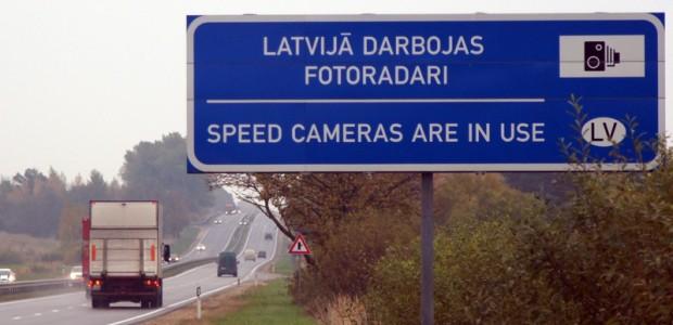 Latvija darbojas fotoradari Rīgas apvadcels_15.10.2012 01