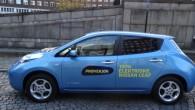 """""""Nissan"""" paziņojumā teikts: """"izmaiņas ir kā daļa no centieniem padarīt """"LEAF"""" vēl pieejamāku trīs galvenajos tirgos – Japānā, Eiropā un..."""