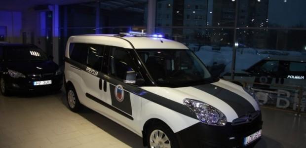 Opel Combo LV policijai