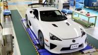 """Japāņu kompānija """"Toyota"""" ziņo, ka izbeigta luksusa zīmola """"Lexus"""" saimes spožākā modeļa, superautomobiļa """"LFA"""" ražošana. Pagājušās nedēļas beigās no Motomaki..."""
