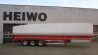 """Pazīstamais Nīderlandes piekabju ražotājs """"Heiwo"""" uzsācis jauna tipa pašizgāzējpiekabju """"Aero"""" izlaidi. Šādas puspiekabes paredzētas beramkravu transportam. No līdzīgiem izstrādājumiem """"Heiwo..."""