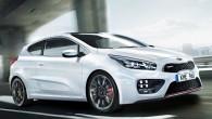 """Nupat, pusotru mēnesi pirms oficiālās prezentācijas Ženēvā kompānija """"Kia"""" nodevusi atklātībai sportiskā hečbeka """"Pro_cee'd GT"""" pirmo oficiālo attēlu. Uz automobiļa..."""