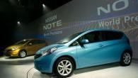 """Detroitas autoizstādē """"Nissan"""" prezentējis arī Eiropas tirgiem paredzēto jaunās paaudzes mikrovenu """"Note"""". Tas ir mazākais un lētākais japāņu kompānijas modelis,..."""