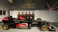 """Pirmdienas, 28. janvāra vakarā """"Lotus F1 Team"""" – kā pirmā šogad – noņēma prezentācijas šķidrautu savai jaunajai sacīkšu mašīnai. 2013...."""
