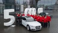 """""""Audi AG"""" vakar, 26.februārī atzīmēja ļoti īpašu notikumu – no Nekarsulmas ražotnes konveijera noripoja balts """"Audi A6 Allroad"""" ar 3,0..."""