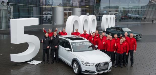 Audi Quattro_ 5 Millionen