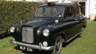 """Klasisks 1962.gada izlaiduma """"Black Cab Austin FX4"""""""