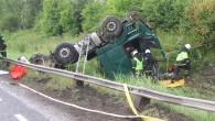 """Deviņos no desmit negadījumiem, kuros iesaistītas kravas automašīnas, cēlonis ir cilvēciskais faktors, liecina jaunākais """"VolvoTrucks"""" veiktais pētījums par satiksmes drošību..."""