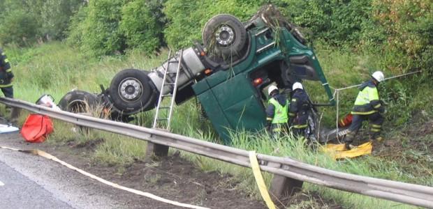 Karvas auto avarija_Volvo Trucks