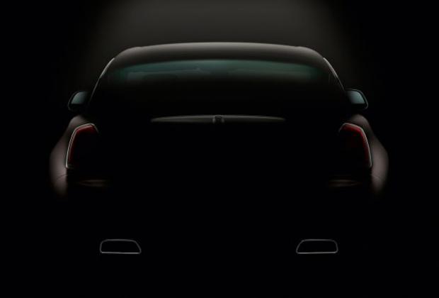 Rolls-Royce Wraith_rear siluet
