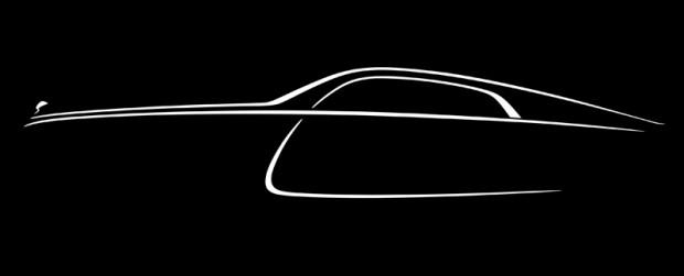 Rolls-Royce Wraith_profil siluet