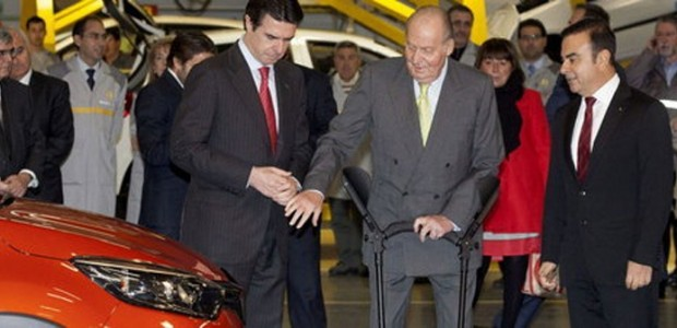 Renault_Carlos Ghosn and king Huan Carlos in Valladolid 01