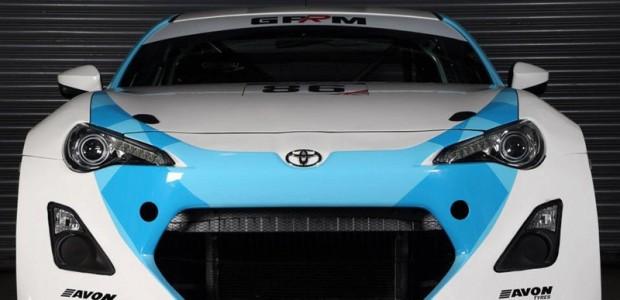 Toyota 86GT race car 01