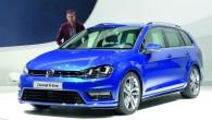 """Tikai dienu pēc jaunā """"Golf Variant"""" pasaules pirmizrādes """"Volkswagen"""" prezentē īpaši sportisku tā versiju """"Golf Variant R-Line"""" – tiesa, pagaidām..."""