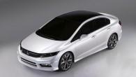 """Šanhajas auto izstādē, kas apmeklētājiem durvis vērs 20. aprīlī, """"Honda"""" gatavojas prezentēt jaunu budžeta klases sedanu. Topošā """"Honda"""" kompaktsedana pirmie..."""
