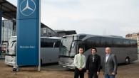 """Ar mērķi nodrošināt pasažieriem ērtu un drošu pārvietošanos tūrisma maršrutos, AS """"Liepājas autobusu parks"""" meitasuzņēmums SIA """"Rumba Tours"""" papildinājis savu..."""