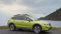 """Lai gan japāņu ražotājs """"Subaru"""" jau vairākus gadus eksperimentējis ar hibrīddzinējiem, pirmais ar šādu spēka agregātu aprīkotais modelis uz konveijera..."""