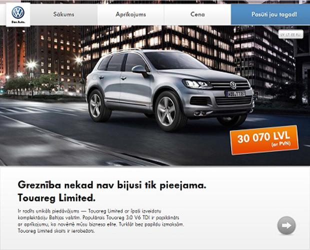 VW Touareg reklama