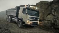 """Pēc divām nedēļām, pirmdien, 15. aprīlī Minhenē notiekošajā celtniecības izstādē """"Bauma"""" paredzēta """"Volvo Trucks"""" jaunās paaudzes """"FMX"""" pirmizrāde. """"Mēs paplašinām..."""