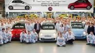 """""""FIAT"""" Polijas filiālē, Tihes ražotnē atzīmēts nozīmīgs notikums – miljonā mazauto """"500"""" izlaide. Par jubilejas automobili kļuva sniegbalts """"Abarth 500..."""