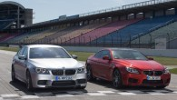 """Abi """"BMW"""" saimes sportiskākie modeļi piedzīvojuši vieglu kosmētisku atjaunināšanu. Nudien rūpīgi jāieskatās, lai sapratu, kas tad jaunajos """"M5"""" un """"M6""""..."""