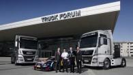 """Septiņi jaunās paaudzes """"MAN TGX"""" transportēs """"Audi Sport"""" saimniecību uz DTM un izturības sacīkšu pasaules čempionāta (WEC) posmiem. """"Audi Sport""""..."""