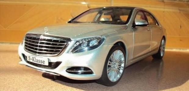 2014 Mercedes-Benz S-Class Scale Model 3