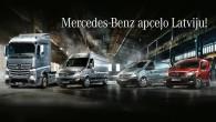 """Šodien 20.maijā un līdz 23.maijam jaunākie """"Mercedes-Benz"""" komerctransporta modeļi apceļos Latviju pilnvarotā pārstāvja """"Domenikss"""" rīkotajā tūrē, kuras ietvaros Liepājā, Jelgavā,..."""