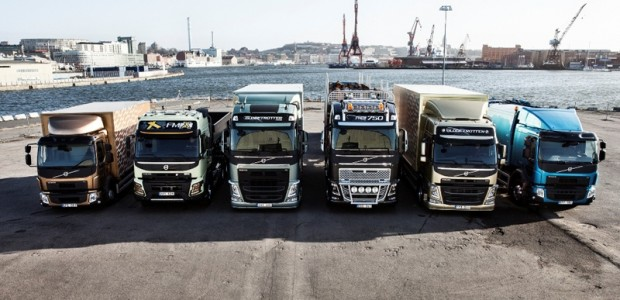 Volvo Truck model range 2013