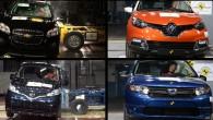 """Jaunu vieglo automobiļu drošību Eiropā uzraugošās neatkarīgās asociācijas """"EuroNCAP"""" moku kambaros pādējā laikā pabijuši četri modeļi – krosoveri """"Chevrolet Trax""""..."""