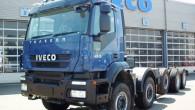 """Kravas automobiļu ražotājs """"Iveco"""" kārtējo reizi nodemonstrējis savu modeļu plašās modifikācijas iespējas, pēc britu firmas pasūtījuma pielāgojot automobiļus specifiskam būvdarbu..."""