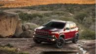 """Jaunā """"Jeep Cherokee"""" ar dusmīgi piežmiegtajām ačelēm pirmie publicētie attēli sabiedrībā izraisīja atklātu nepatiku, turpretim paziņojums par """"SRT"""" versijas gatavošanu..."""