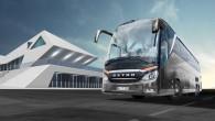 """Kompānija """"Setra"""" gatavojas rudenī laist tirgū jaunu modeļu līnijas flagmani – """"premium"""" klases autobusu """"TopClass 500"""". Topošais """"TopClass 500"""" laineris..."""