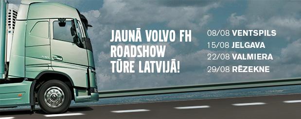 Volvo FH_Roadshow_Latvija