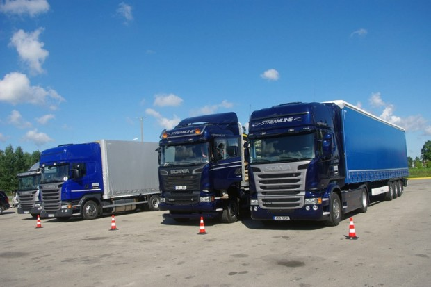 1-Scania Streemline Roadshow 2013