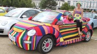 """Lielākajā privātjā visu trīs """"VW Beetle"""" paaudžu automobiļu cienītāju saietā Beetle Sunshine Tour 2013 , kas 17.augustā jau devīto reizi..."""