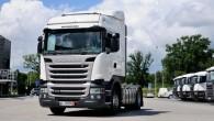 """No 20. līdz 29. augustam četrās Latvijas pilsētās viesojas """"Scania"""" automobiļu karavāna, kuras ietvaros tiek prezentēts jaunais """"Scania Streamline"""" modelis..."""