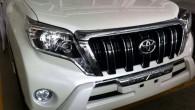 """Šodien internetā parādījušies daži attēli ar """"feisliftētiem"""" """"Toyota Land Cruiser Prado"""" un tā dvīņubrāli """"Lexus GX"""". Vienīgā puslīdz oficiālā informācija..."""