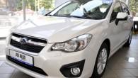 """Subaru"""" pilnvarotā pārstāvja """"AD REM Auto"""" salonā izstādīta pirmā uz Latviju atvestā jaunā ceturtās paaudzes """"Subaru Impreza"""". Tiesa, līdz oficiālās..."""