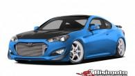 """Korejiešu ražotājs """"Hyundai"""" apsolījis uz novembrī ASV notiekošo tūninga izstādi """"SEMA 2013"""" aizvest """"Genesis Coupe"""" ar 1000 ZS dzinēju. Pirms..."""