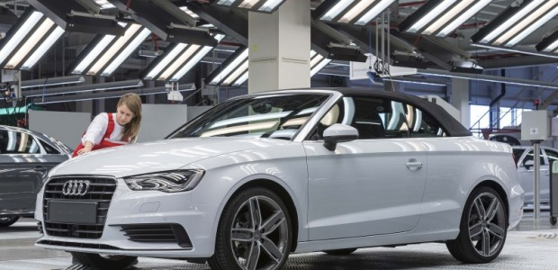 Audi A3 Cabrio 2014 production