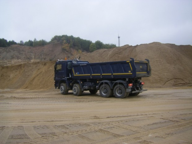 MB īpašā Actros kravas automobiļa tests 07.10.13.1