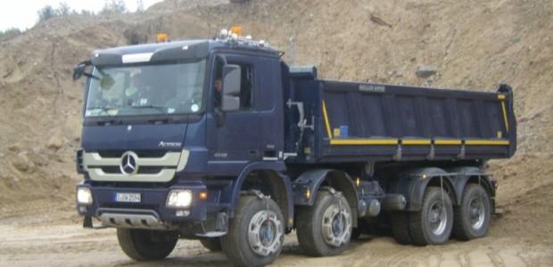 MB īpašā Actros kravas automobiļa tests 07.10.13.2