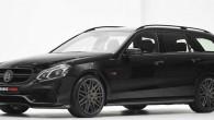 """Vācu tūninga ateljē """"Brabus"""" ir vēl papildus pilnveidojuši 2014. gada """"Mercedes E63 AMG"""" Populārajā tūninga izstādē Esenē """"Brabus"""" prezentējis ekstremāli..."""