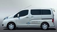 """Japāņu autoražotājs """"Nissan"""" īsi pirms pirmizrādes atklājis pirmos attēlus un informāciju par elektromobili """"e-NV200"""". Par elektriskā minivena tapšanu liecināja """"Nissan""""..."""