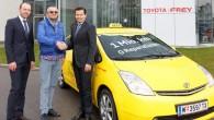 """Vēl viens ievērības cienīgs rekords nonācis """"Toyota Prius"""" kontā – kāds Vīnes taksists sešu gadu laikā ar hibrīdautomobili ir nobraucis..."""