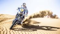 """Tikai pāris nedēļas pirms Dakāras maratonrallija starta japāņu motociklu ražotājs """"Yamaha"""" atklājis motociklu, ar ko Sirils Deprē dosies aizstāvēt savu..."""