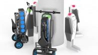 """Četri amerikāņu dizaineri kopīgiem spēkiem radījuši saliekamu elektrisko skūteri """"URB-E"""", kas izmēru ziņā varētu būt mazākais pasaulē. Ņemot vērā pēdējās..."""