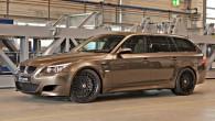 """Vācu tūninga ateljē """"G-Power"""" sagatavojusi ekstremāli sportisku """"BMW M5 Touring"""" versiju, kas pretendē uz pasaules ātrākā universāla godu. Automobilim piešķirts..."""