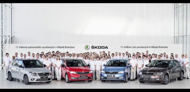 11-million-skoda cars